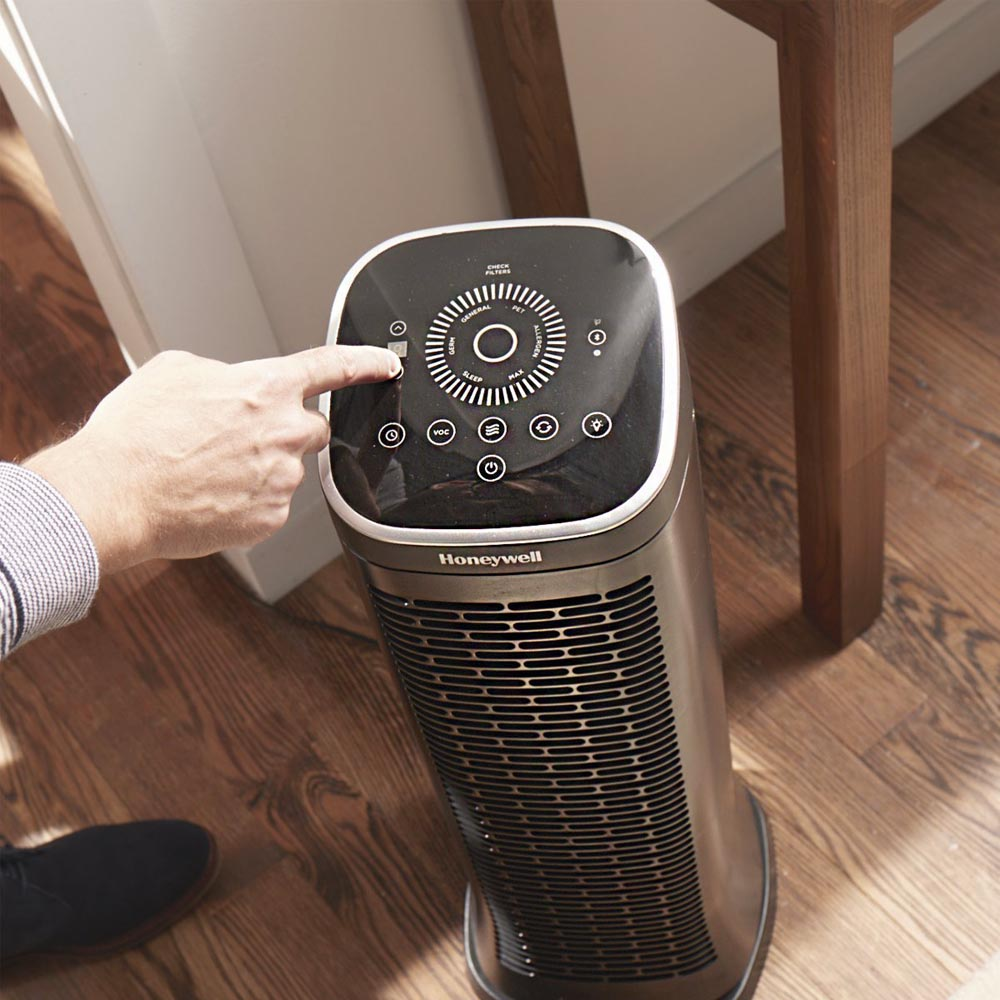 Honeywell AirGenius 6 Bluetooth Smart Air Cleaner & Odor Reducer, HFD360B