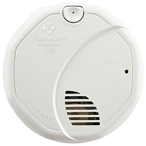 First Alert 3120B 120VAC Hardwired Photoelectric and Ionization Smoke Alarm