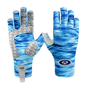 Flying Fisherman G2200-L/XL Sunbandit Pro Series Gloves Blue Water L/XL