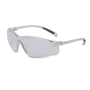Honeywell Sharpshooter A700 Shooter's Safety Eyewear, Clear Frame, Clear Lens, Scratch-Resistant - R-01636