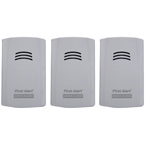 First Alert Water Alarm (3pk) - WA100-3