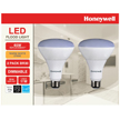 Honeywell LED BR30 65W Equivalent Dimmable 2 Pack, B306527HB223