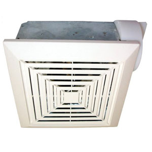 USI Electric Bath Exhaust Fan with 4-Inch Vent and CustomMotor, 50 CFM (BF-504)