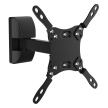 Level Mount DC30SJ Full Motion VESA TV Wall Mount for 10-32 Inch TVs up to 50 LBS