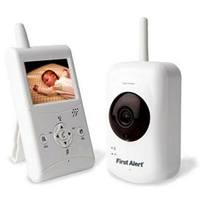 First Alert Digital Wireless Family Surveillance Camera and 2.5-Inch LCD Monitor - DWB-740
