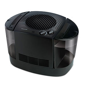 Honeywell Top Fill Cool Moisture Humidifier in Black, HEV685B