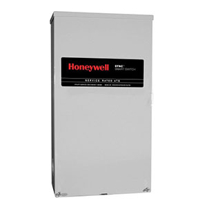Honeywell RXSM100A3 Single Phase 100 Amp/240 Volt Sync Transfer Switch, Service-Rated