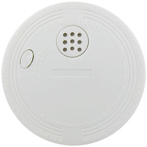 Universal Security Instruments Compact Size Battery-Operated Ionization Smoke and Fire Alarms, 6-Pack (SS-770-6CC)